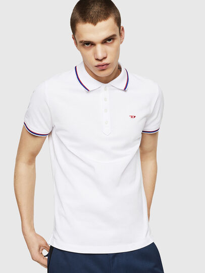 Diesel - T-RANDY-NEW, White - Polos - Image 3