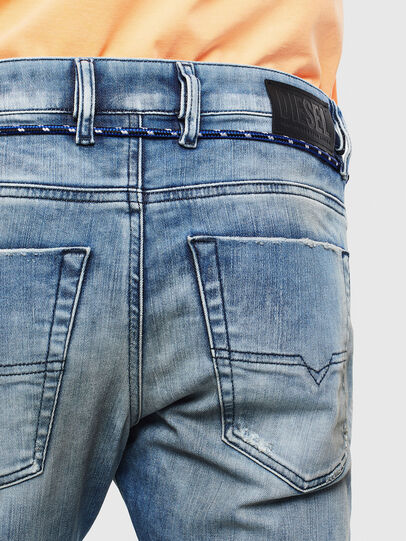 Diesel - Krooley JoggJeans 0099Q, Medium blue - Jeans - Image 4