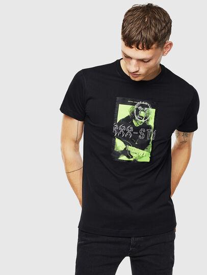 Diesel - T-DIEGO-J1, Black - T-Shirts - Image 1
