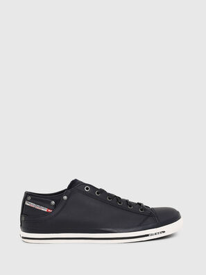 EXPOSURE LOW I, Dark Blue - Sneakers