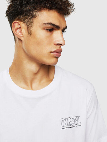 Diesel - UMLT-JAKE, White - Tops - Image 3