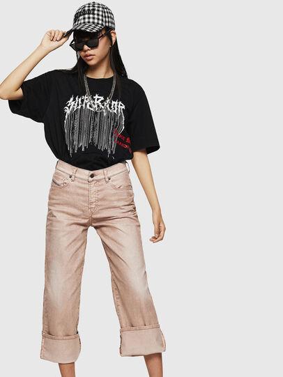 Diesel - Widee 0091T, Pink - Jeans - Image 4