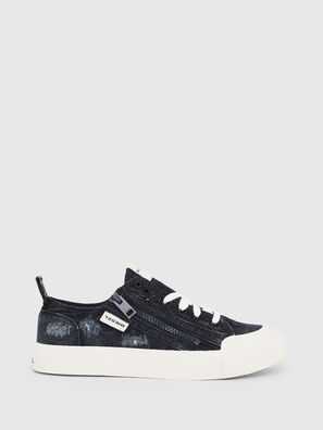 S-ASTICO LOW ZIP W, Blue Jeans - Sneakers