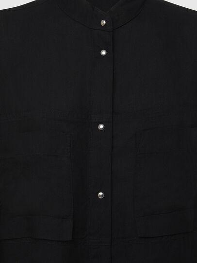 Diesel - D-SUPER-D, Black - Dresses - Image 6