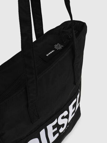 Diesel - BBAG-TOTE, Black - Beachwear accessories - Image 4