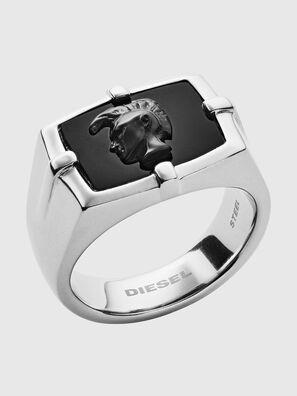 DX1175, Silver/Black - Rings
