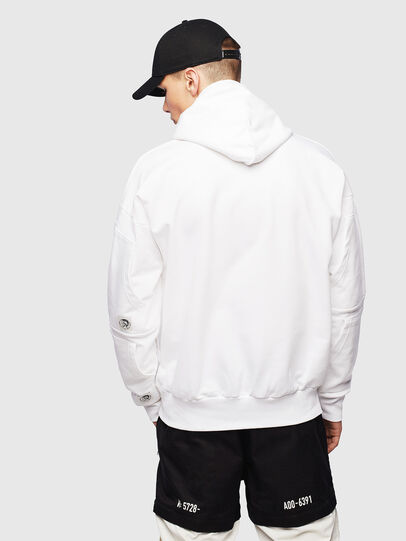 Diesel - S-ALBY-POCKETS, White - Sweaters - Image 3