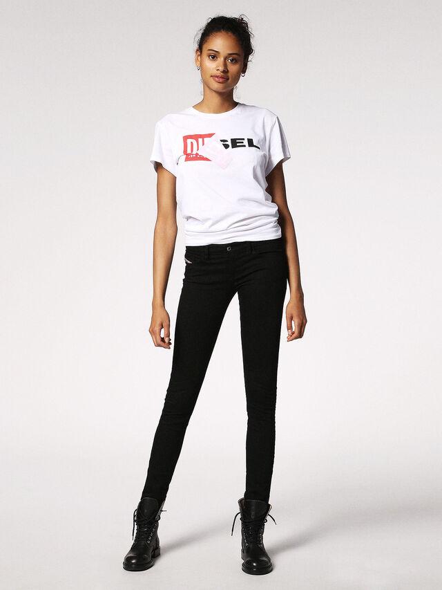 SKINZEE-LOW 0813E, Black Jeans