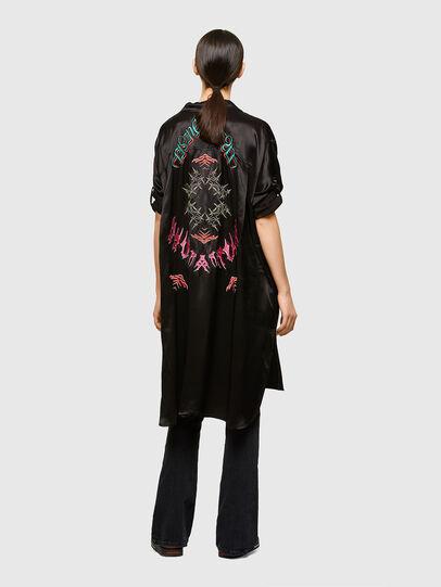 Diesel - D-NIA-A, Black - Dresses - Image 2