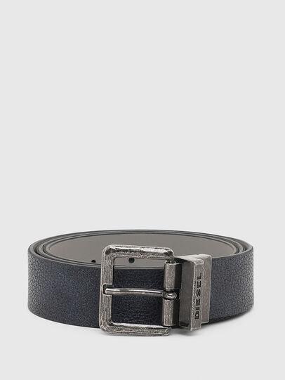 Diesel - B-DOUBLEX, Blue - Belts - Image 1