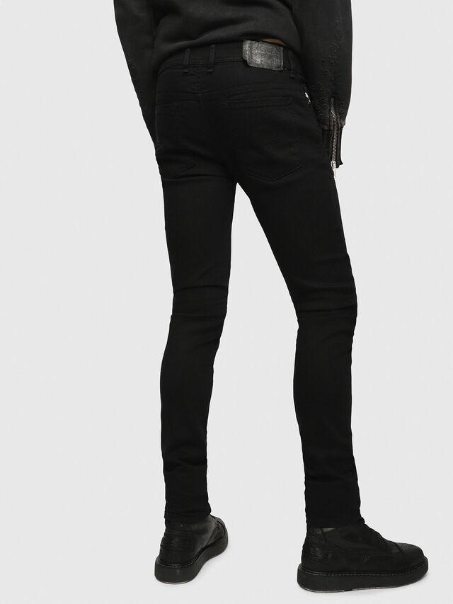 Diesel Sleenker 0886Z, Black/Dark grey - Jeans - Image 2