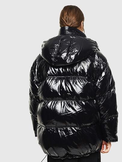 Diesel - W-ALLA, Black - Winter Jackets - Image 2