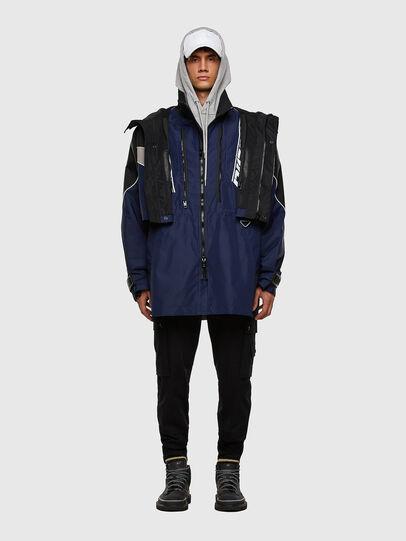 Diesel - W-KOON, Blue/Grey - Winter Jackets - Image 7