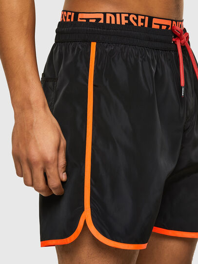 Diesel - BMBX-DOLPHIN-R, Black - Swim shorts - Image 3
