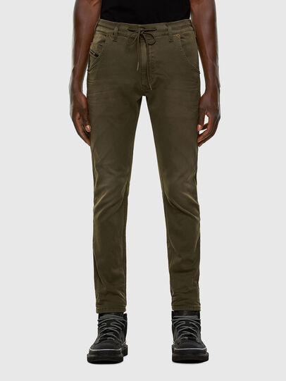 Diesel - Krooley JoggJeans 0670M, Dark Green - Jeans - Image 1
