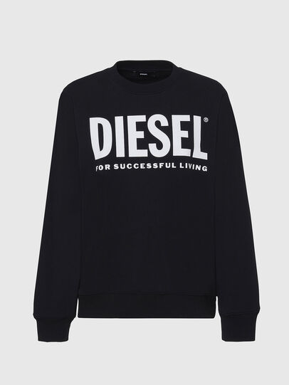 Diesel - F-ANG, Black/White - Sweaters - Image 1