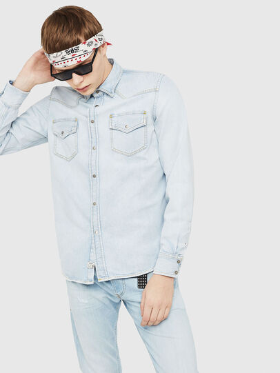 Diesel - D-EAST-P,  - Denim Shirts - Image 1