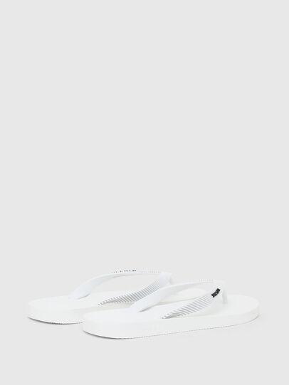 Diesel - SA-KAUAY W, White - Slippers - Image 3