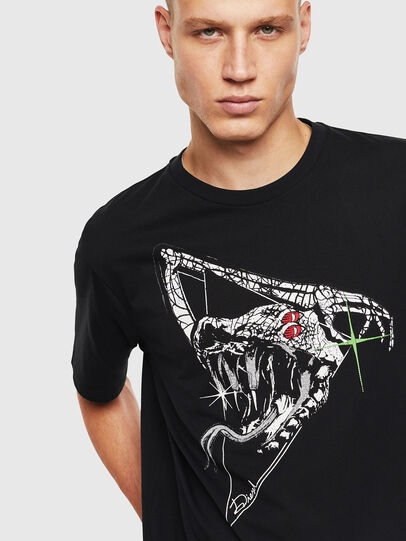 Diesel - T-JUST-J15, Black - T-Shirts - Image 3
