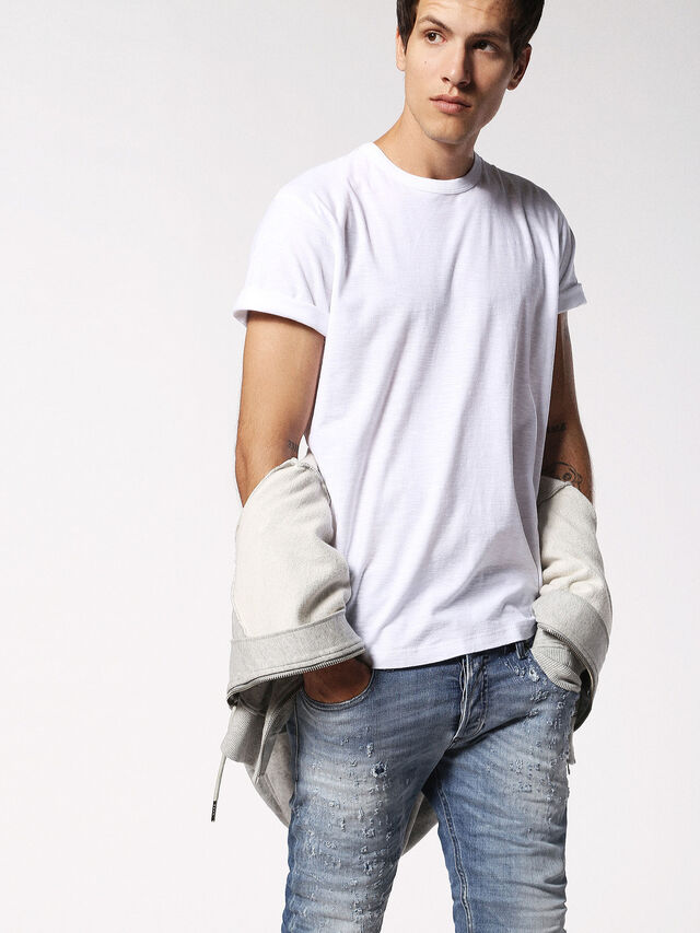 Diesel - T-TERRENCE, White - T-Shirts - Image 3