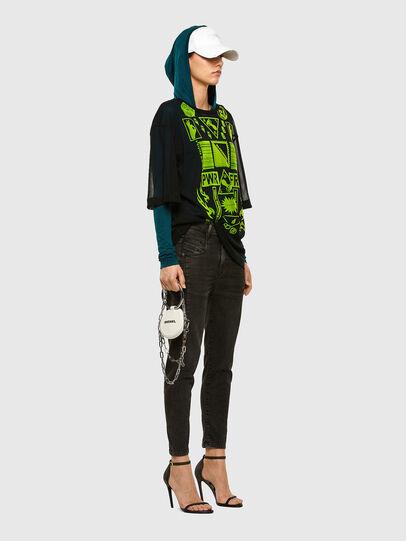 Diesel - Fayza JoggJeans 009HM, Black/Dark grey - Jeans - Image 6