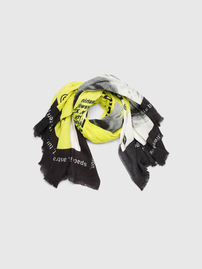 Diesel - SRIGHT, White/Yellow - Scarf - Image 2