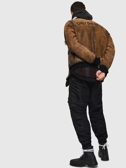 Diesel - L-OIUKIRO,  - Leather jackets - Image 8