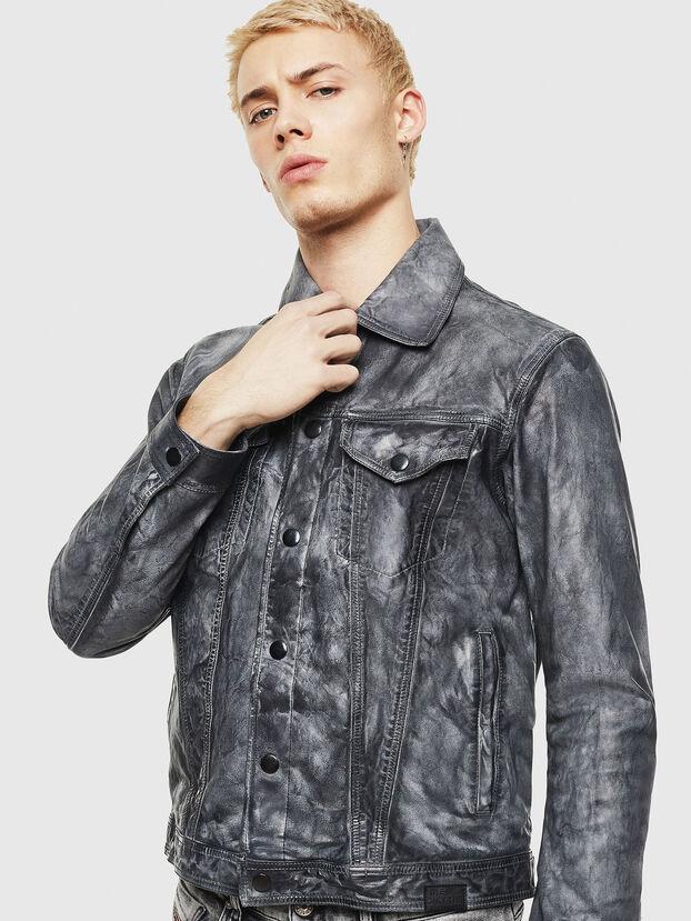 L-NHILL, Black - Leather jackets