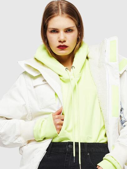 Diesel - W-OKSO, White - Winter Jackets - Image 5