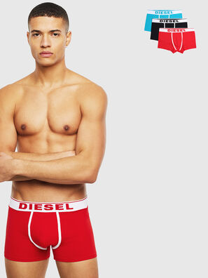 UMBX-DAMIENTHREEPACK, White/Red/Blu - Trunks