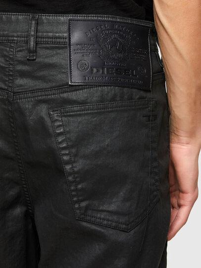 Diesel - D-WILLOH-X-SP JOGGJEANS, Black - Shorts - Image 4