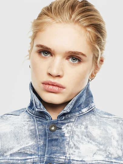Diesel - D-LIMMY-T, Medium blue - Denim Jackets - Image 4