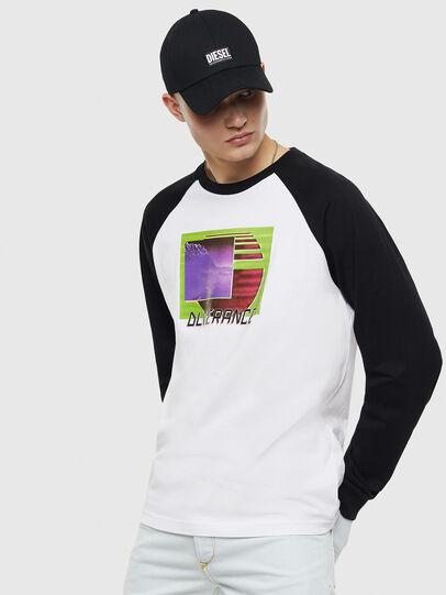 Diesel - T-RODDI, White/Black - T-Shirts - Image 1
