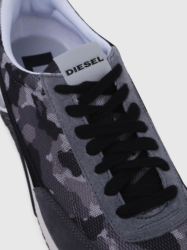 Diesel - S-KB LOW LACE, Gray/Black - Sneakers - Image 4