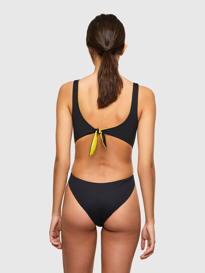 Diesel - BFSW-BOWSUIT-REV, Black/Yellow - Swimsuits - Image 2