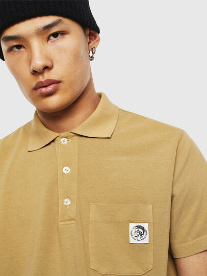 Diesel - T-POLO-WORKY, Beige - Polos - Image 3