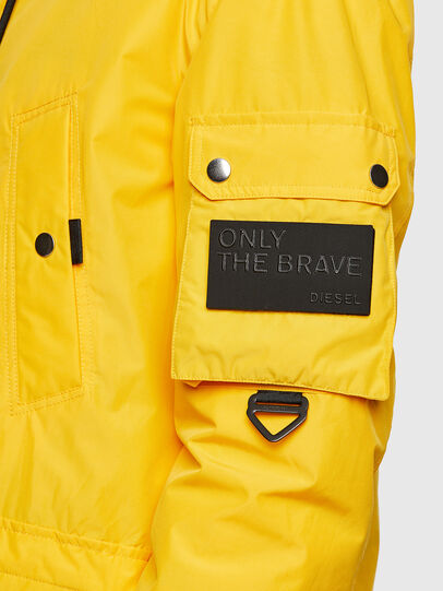 Diesel - W-COLBY, Yellow - Winter Jackets - Image 5