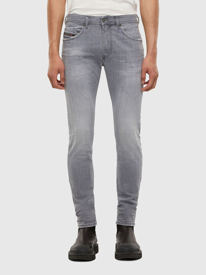 Diesel - Thommer 009DC, Light Grey - Jeans - Image 1