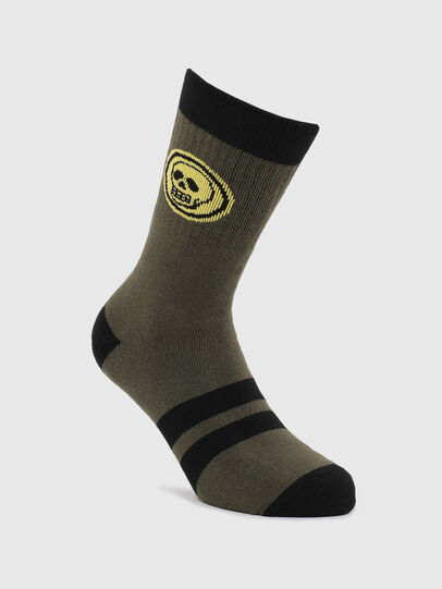 Diesel - SKM-RAY, Military Green - Socks - Image 1