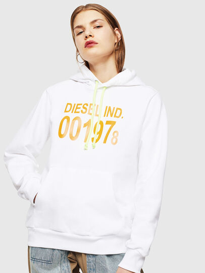 Diesel - S-GIRK-HOOD, White - Sweaters - Image 2