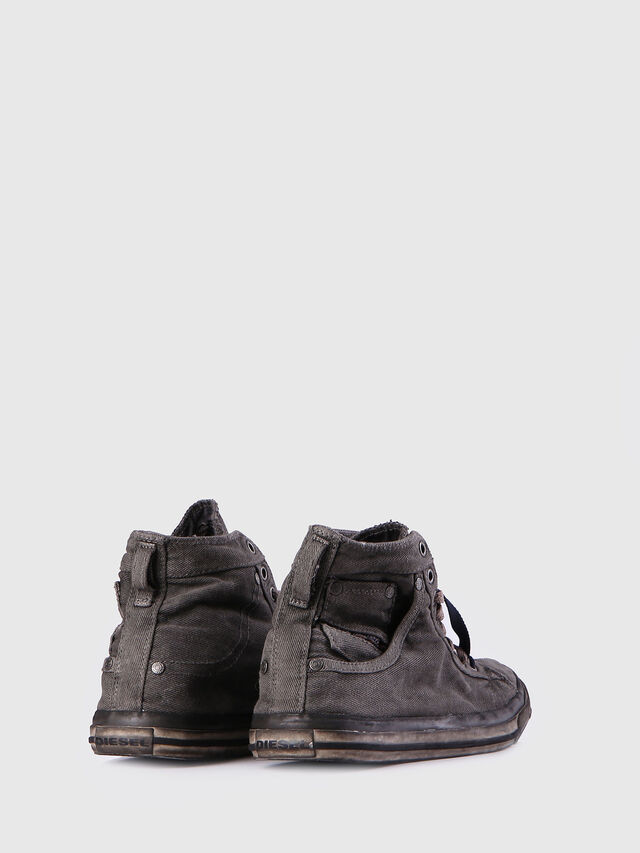 Diesel EXPOSURE I, Metal Grey - Sneakers - Image 3