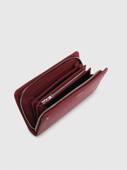 Diesel - GRANATO LCLS, Pink - Zip-Round Wallets - Image 3