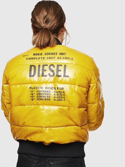 Diesel - W-ONY, Yellow - Winter Jackets - Image 2