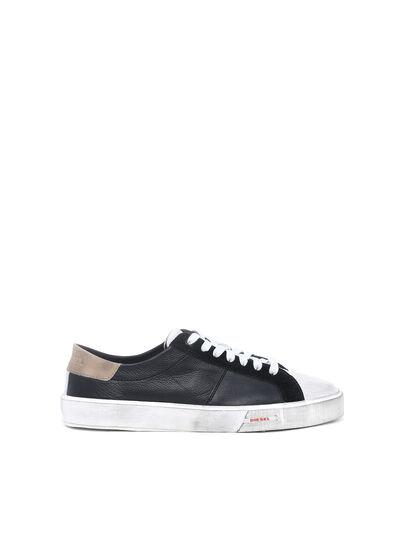 Diesel - S-MYDORI LC, Black/Beige - Sneakers - Image 1