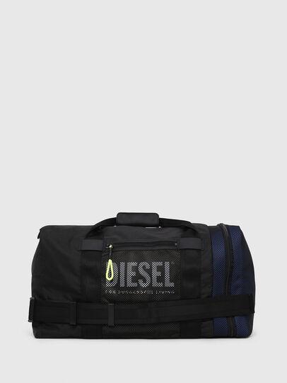 Diesel - M-CAGE DUFFLE M, Black - Travel Bags - Image 1