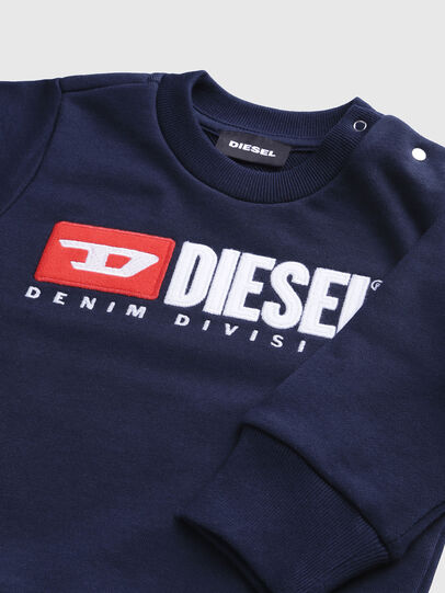Diesel - SCREWDIVISIONB, Navy Blue - Sweaters - Image 3