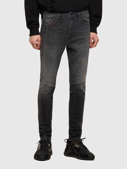 Diesel - D-Amny 009QE, Black/Dark grey - Jeans - Image 1