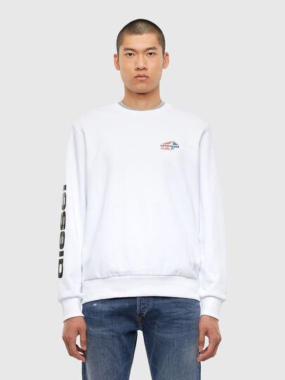 Diesel - S-GIRK-K14, White - Sweaters - Image 1