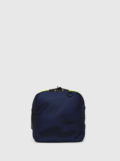 Diesel - M-CAGE DUFFLE M, Black - Travel Bags - Image 3