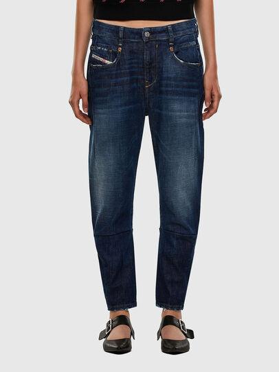 Diesel - Fayza 0F9ET, Dark Blue - Jeans - Image 1